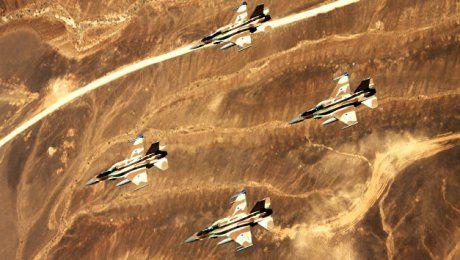 Израильские ВВС нанесли удар по сирийским войскам