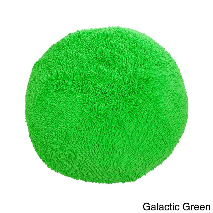 The Shag bean bag chair is a plush, comfortable and casual addition to any home. Available in a variety of bright colors, this shaggy chenille microfiber bean bag is filled with supportive polystyrene