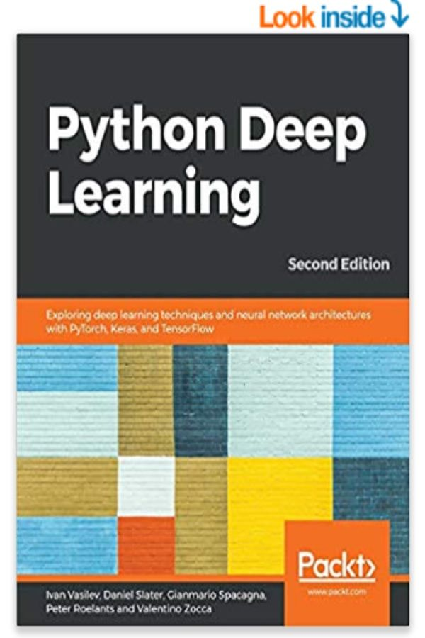 Deep learning with Python, Deep Learning for beginners, Deep