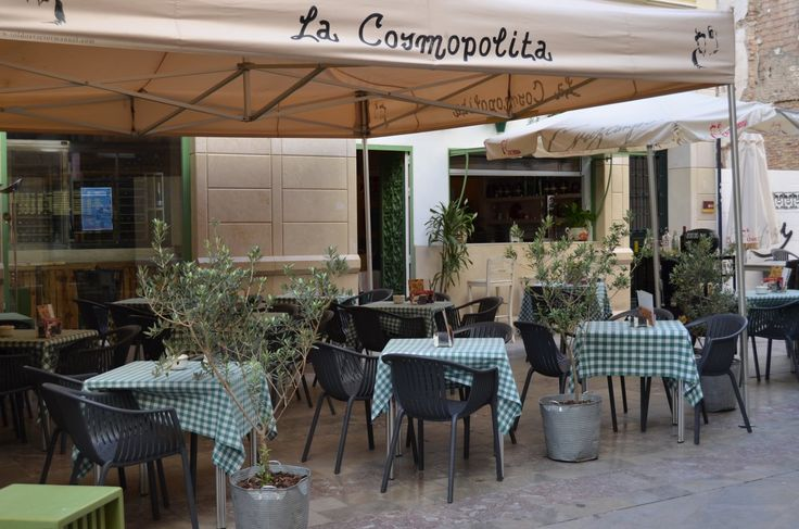Restaurant Cosmopolita Malaga. This cosy restaurant with a large bar and terrace can be found near the cathedral. The menu is contemporary, yet traditional. The tapas are often presented in an original way. Highly recommended. Prices are reasonable. www.travelguidemalaga.com