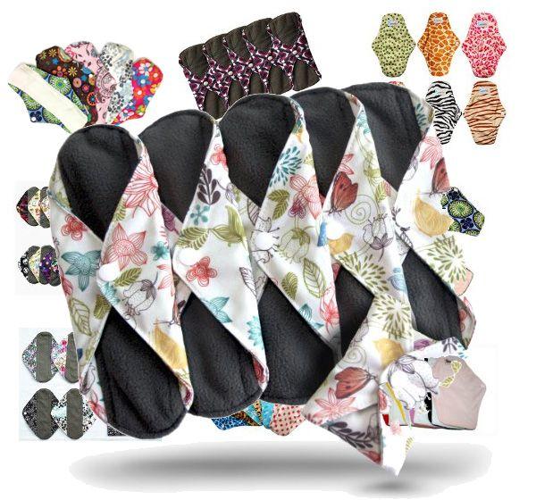 Wish   Comfort Reusable Cloth Sanitary Napkins Menstrual Panty ...