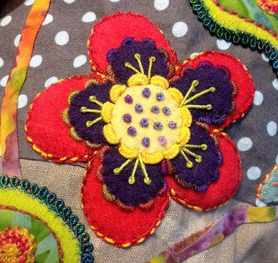 Kerry Stitch Designs: More - Flower and Leaves on Enchantment