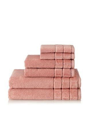 Espalma Heath 6-Piece Towel Set (Clay/Chocolate)