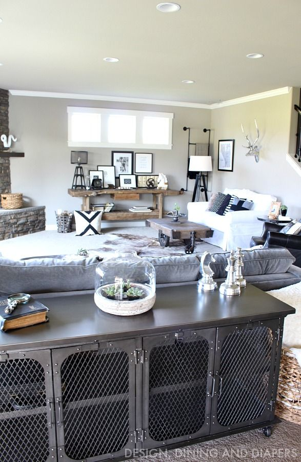 best 25 rustic family rooms ideas on pinterest family room decor and living room decor open. Black Bedroom Furniture Sets. Home Design Ideas