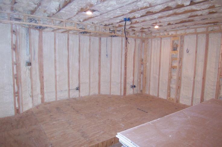 how to get off spray foam insulation