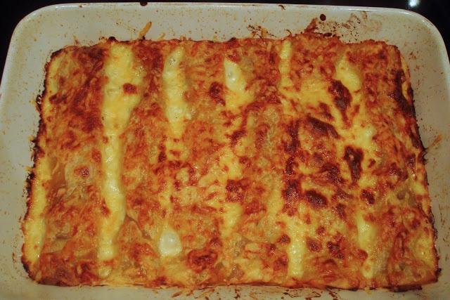 Essence: Pumpkin Cannelloni = Super comfort food
