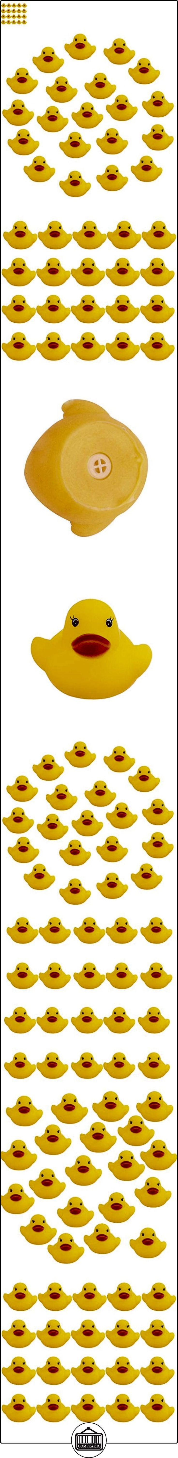 20 Piezas Juegos Infantiles de Baño Goma Chirriante Pato Amarillo Bebés Niños  ✿ Seguridad para tu bebé - (Protege a tus hijos) ✿ ▬► Ver oferta: http://comprar.io/goto/B01LA7TNGI