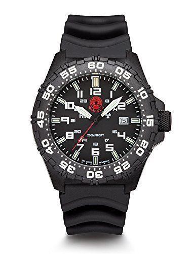 Praetorian SOCOM Black - Diver Armband - H3 Tritium Uhr - Trigalight - http://on-line-kaufen.de/praetorian/praetorian-socom-black-diver-armband-h3-tritium