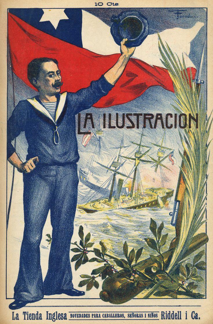 Portada Revista la Ilustración. 1910