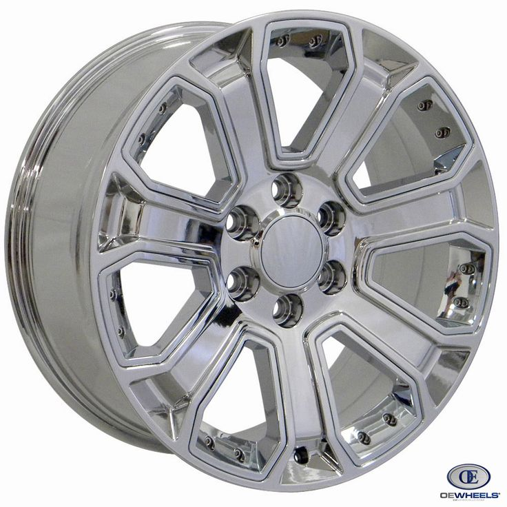 Fits Chevy Silverado Rim CV93 22x9 Chrome Silverado Wheel