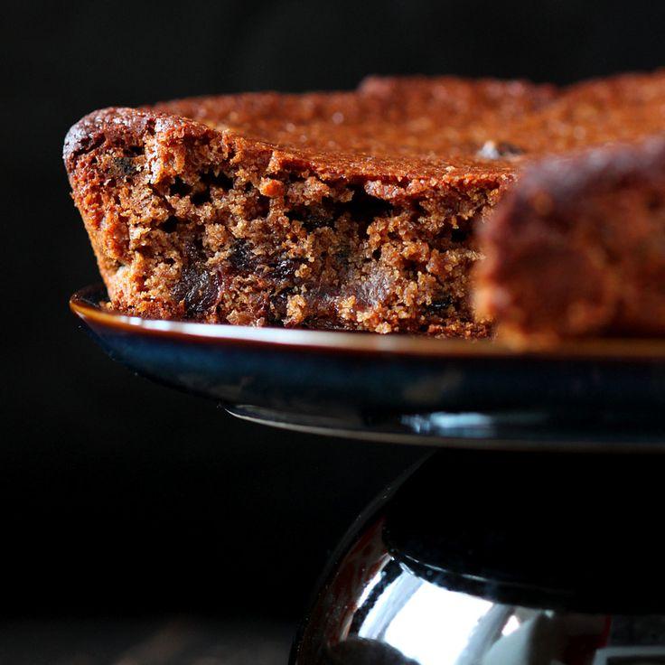 Spiced Fruit and Nut Christmas Cake. Vegan Recipe | Vegan Richa