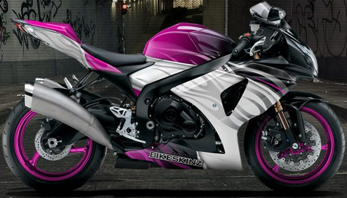 Pink And Black Motorcycle   Motorcycles and Pink
