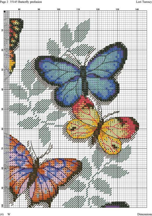Gallery.ru / Фото #1 - Motyle na listoch - zuzas
