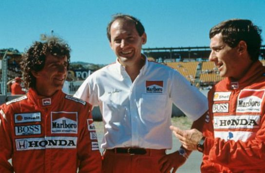 Ayrton Senna Alain Prost & Ron Dennis # formula1 # formula # 1 # Sätze – Tony McGovern