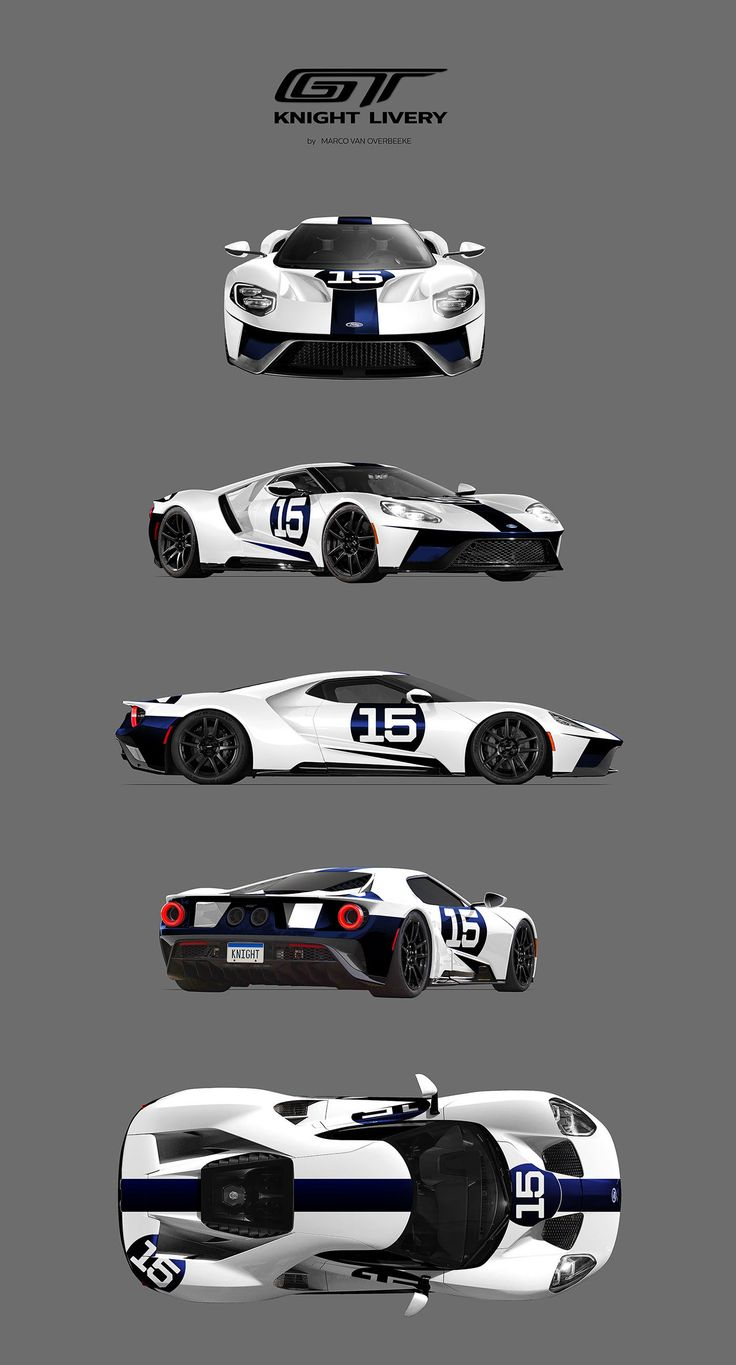 2017 Ford GT Custom Liveries - KNIGHT LIVERY