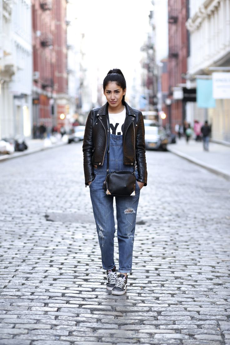 The funny thing about New York is that one day it'll be warm and the next day you'll need three layers of clothes to survive or maybe California girls just can't handle the cold….Guilty! The weather changed a lot in just in a few days of my stay but luckily, I packed my favorite one piece, this cute NYC quilted pull-over and my leather jacket. Lo más gracioso de Nueva York es que un día el clima esta cálido y al día siguiente tendrás que usar tres capas de ropa para sobrevivir el clima o tal…