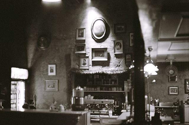 """family portaits and some coffee"". Bunkier Sztuki cafe in Krakow, PL"