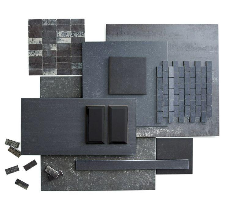 KARWEI | Mat of glanzend, groot of klein: met zwarte tegels creëer je een stijlvolle look #wooninspiratie #badkamer #karwei