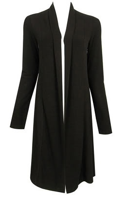 black cardigan from forever21