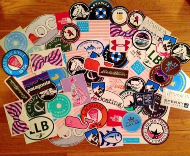 Preppy Southern Clothing Brands | Simply Living Preppy: How to Get Free Preppy Stickers!