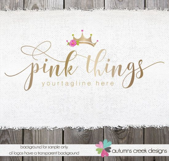 Hey, I found this really awesome Etsy listing at https://www.etsy.com/in-en/listing/272024808/tiara-logo-photography-logo-premade-logo