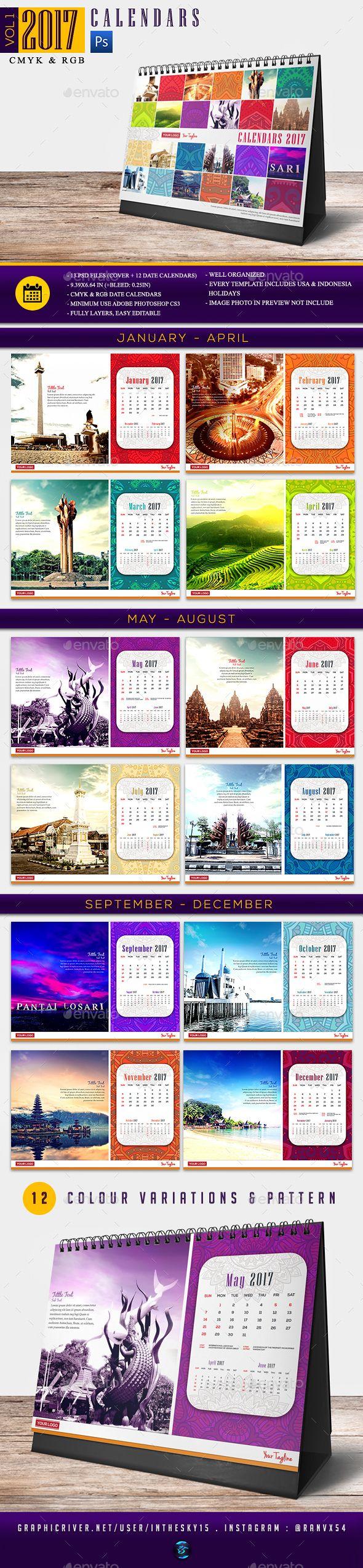 #Calendars Vol 1 - Calendars Stationery