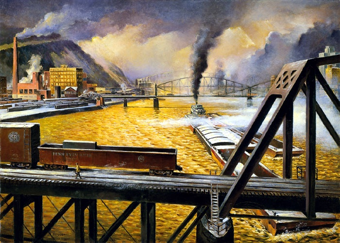 Pittsburgh Industrial Scene, n.d. - Born of Fire