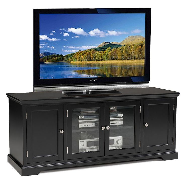 Leick Furniture 60-in. Black TV Stand