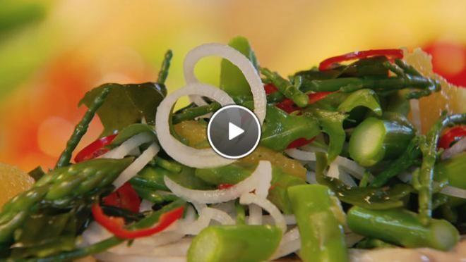 Ziltige zeesalade met amandelmayonaise - The Taste of Life Travel | 24Kitchen