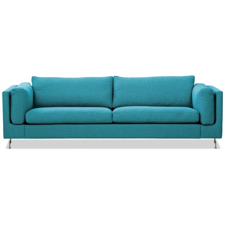 Awesome  Sitzer Sofa T rkis Designer Couch Sofa