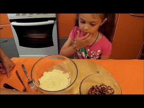 Крендельки в белом шоколаде