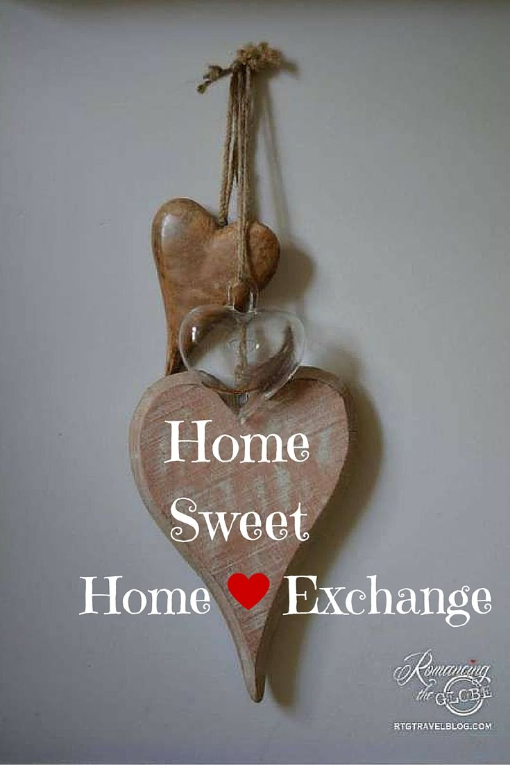 Exchanging homes around the world is one way we love to travel. This set of hearts was in our Edinburgh, Scotland home. Perfect for our anniversary trip!