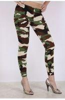 Army Print Leggings
