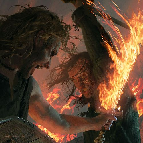 Artist: Michael Komarck (for the 2009 A Song of Ice and Fire calendar)