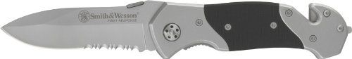 For camping. Smith & Wesson SWFRS First Response Serrated Knife
