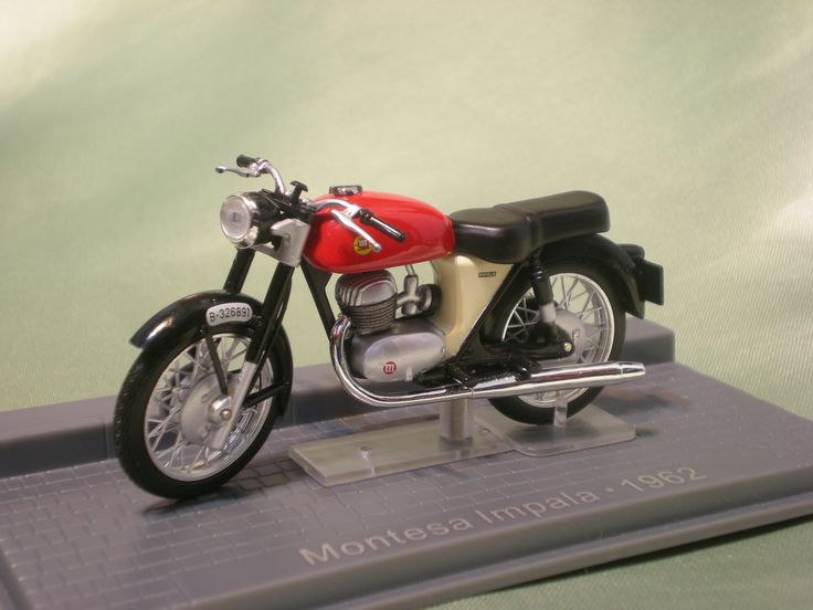 Colección Miniaturas de Motos Clásicas