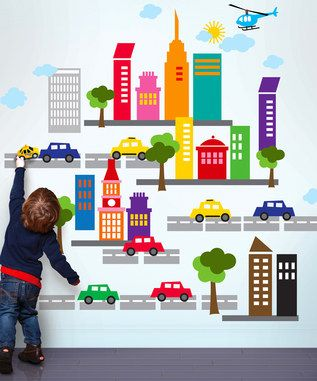 Love these Wallies Wall Stickers - especially with up to 55% off RRP at Zulily  #spon