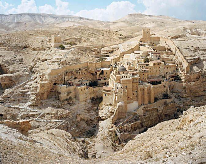 Stephen Shore // St. Sabas Monestary, Judean Desert, September 20, 2009