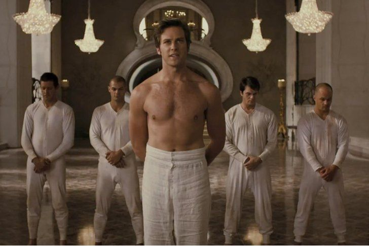 Pin for Later: The Hottest Shirtless Guys in Movies Armie Hammer, Mirror Mirror Armie Hammer gets even more charming with his shirt off.