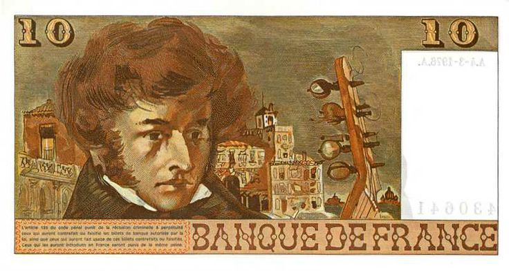 Collection Billet Banque de France - F.63 - 10 francs Berlioz