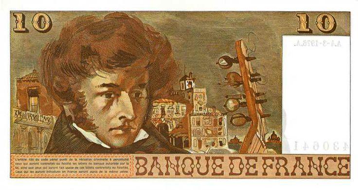 Collection Billet Banque de France - F.63 - 10 francs Berlioz