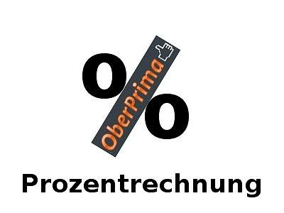 Prozentrechnung Videosammlung auf OberPrima