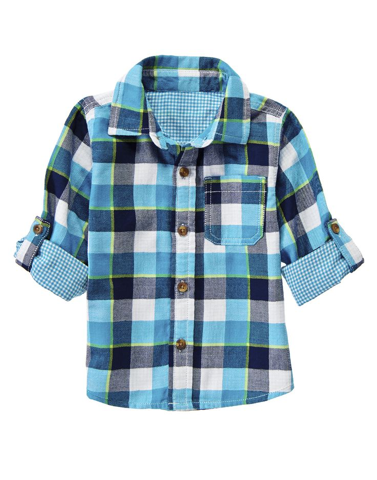 Double Weave Gingham Shirt at Crazy 8 (Crazy 8 6m-5T)