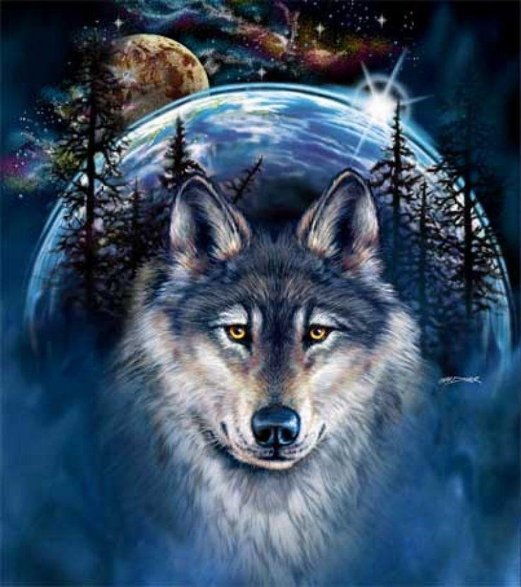 Картинки на аву с волками