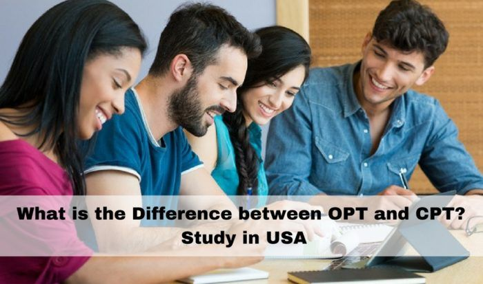 Study in USA: What is the difference between OPT and CPT