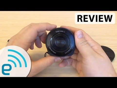 Sony Cyber-shot QX10 Lens Camera review | Engadget - YouTube