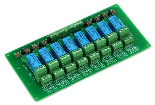 Details about 8 DPDT Signal Relay Module Board, DC5V Version