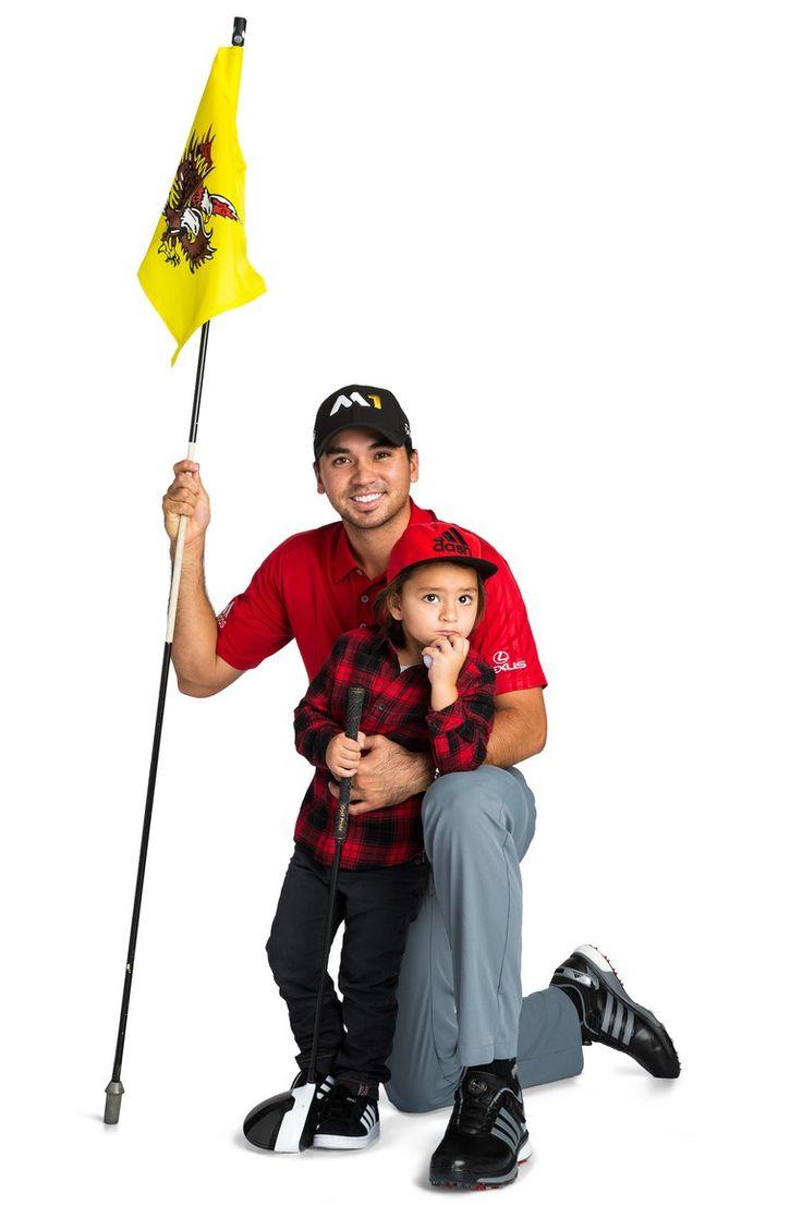 Jason-Day-with-Dash. My new #2 favorite golfer.