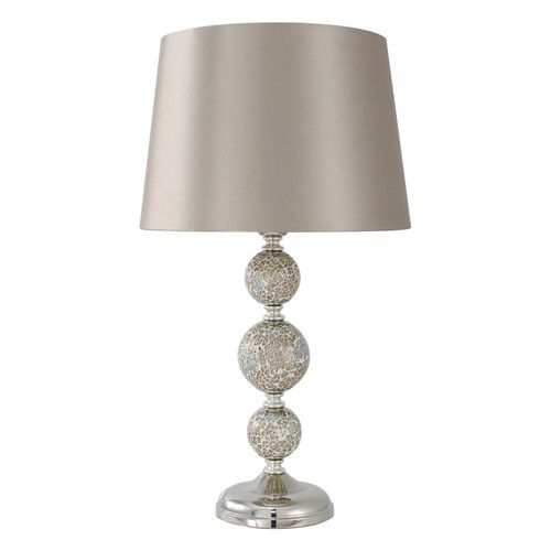 Found it at Wayfair.co.uk - Sparkle Tiled 49cm Table Lamp