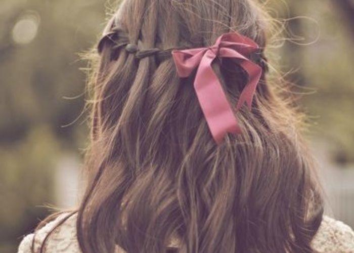 新しい編み込み!海外で話題の髪型『ウォーターフォール』が可愛い♡のトップ画像